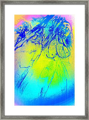 You Should Have A Glance At This And Admire Us    Framed Print by Hilde Widerberg