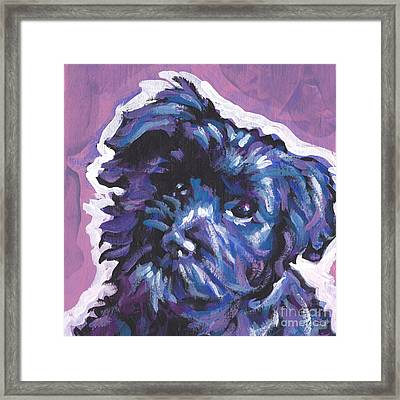 Have A Hav Framed Print by Lea S