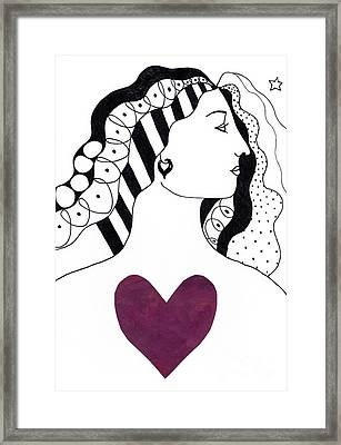 Have A Heart Framed Print