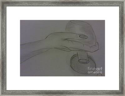 Have A Nice Drink Of  Wine Framed Print