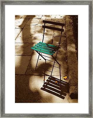 Have A Seat Framed Print by Tom Kostro