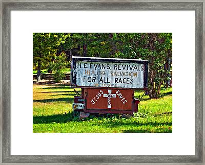 Have Miracle - Will Travel 2 Framed Print