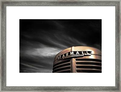 Have No Fear - Farmall Is Here Framed Print