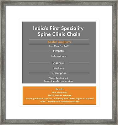 Have Osteoporosis Treatment Framed Print