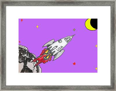 Have Spacesuit Will Travel Framed Print