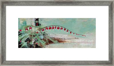 Have We Become Comfortably Numb Framed Print by Frances Marino