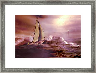Haven Framed Print by Carol and Mike Werner