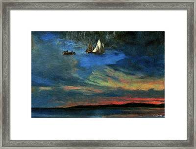 Haven In Heaven Framed Print