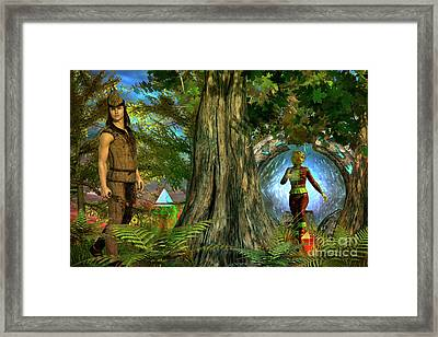 Haven Framed Print by Shadowlea Is