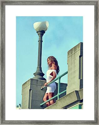 Haven't Met You Yet Framed Print by Naman Imagery