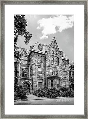 Haverford College Barclay Hall Framed Print by University Icons