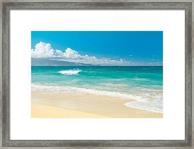 Framed Print featuring the photograph Hawaii Beach Treasures by Sharon Mau