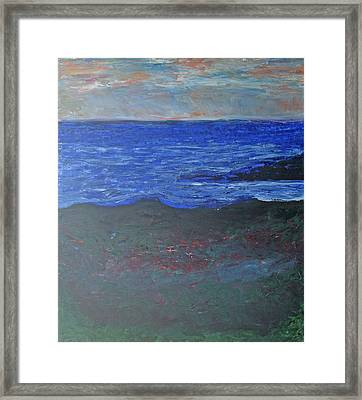Hawaii Horizon Framed Print