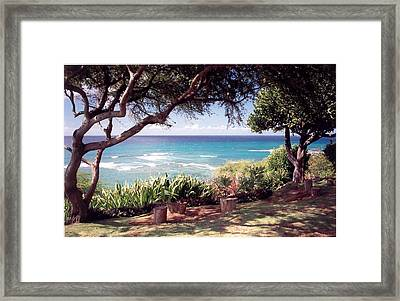 Hawaii Framed Print by Lori Mellen-Pagliaro