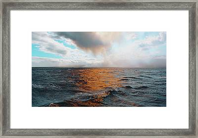 Framed Print featuring the photograph Hawaii by Lucian Capellaro