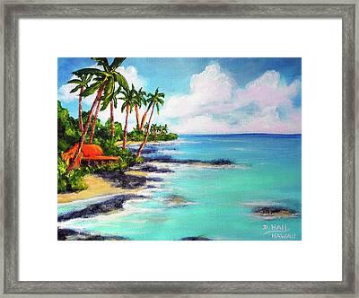 Hawaii North Shore Oahu #472 Framed Print by Donald k Hall