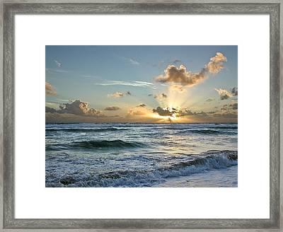 Hawaii Sunrise Framed Print