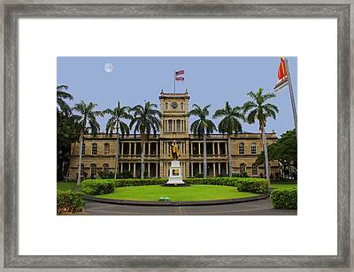 Hawaii Supreme Court Framed Print by Michael Rucker