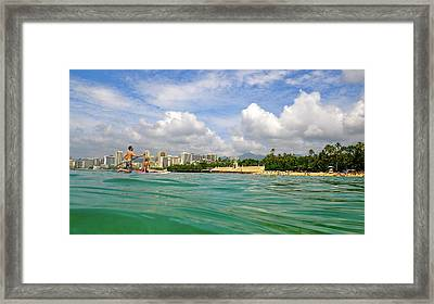 Hawaii Winter Dream Framed Print