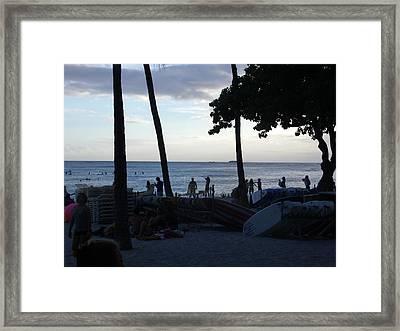 Hawaiian Afternoon Framed Print