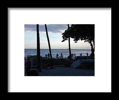 Water Framed Prints