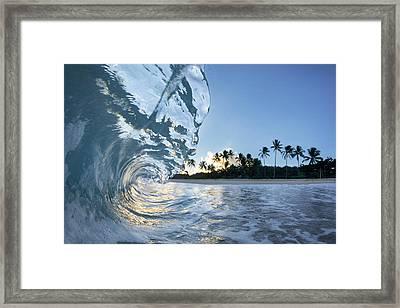Hawaiian Crystal Framed Print