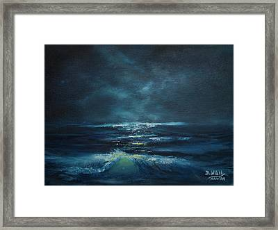 Hawaiian Enchanted Sea #431 Framed Print by Donald k Hall
