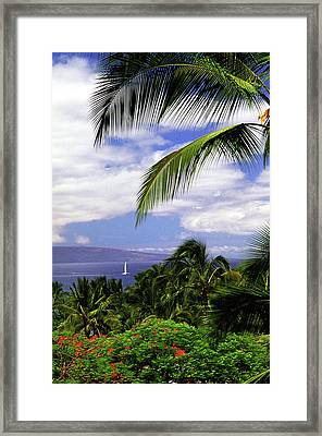 Hawaiian Fantasy Framed Print by Marie Hicks
