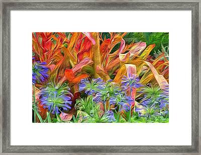 Hawaiian Flowers Framed Print by Paige Harre