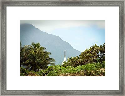 Hawaiian Landscape Framed Print