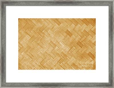 Hawaiian Lauhala Mat Framed Print by Brandon Tabiolo - Printscapes