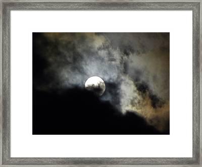 Hawaiian Moon Framed Print by Elizabeth Hoskinson