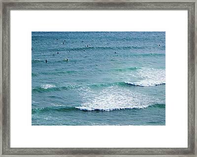 Hawaiian Ocean Framed Print by Jera Sky