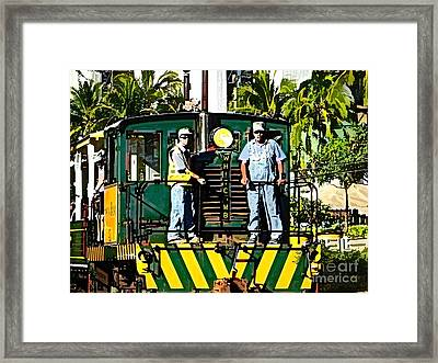 Hawaiian Railway Framed Print