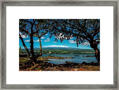 Hawaiian Snow Framed Print