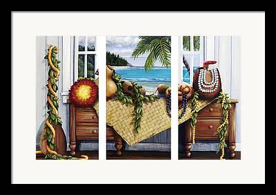 Koa Framed Prints