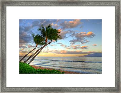 Hawaiian Sunrise Framed Print by Kelly Wade