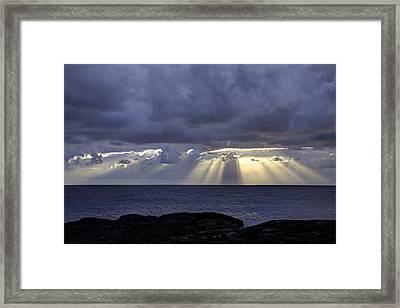 Hawaiian Sunrise Framed Print