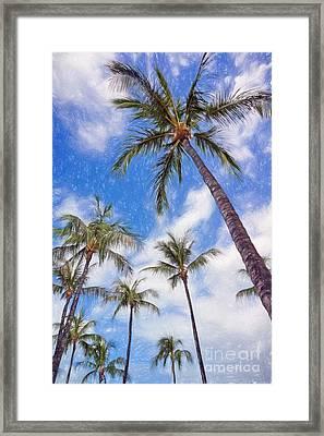 Hawaiian Vacation #4 Framed Print
