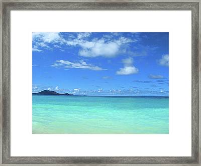 Hawaiian Waters Framed Print