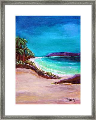 Hawaiin Blue Framed Print