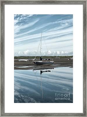 Hawk 20 Brancaster Staithe Norfolk Framed Print by John Edwards