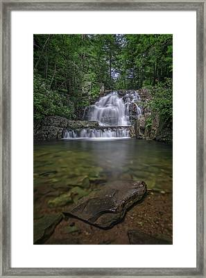 Hawk Falls Framed Print