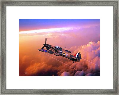 Hawker Hurricane British Fighter Framed Print by John Wills