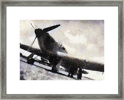 Hawker Hurricanes Of No. 32 Squadron Framed Print