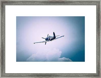Hawker Sea Fury Fb11 Framed Print