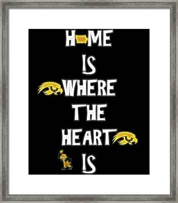 Hawkeye For Life Framed Print by Dan Sproul