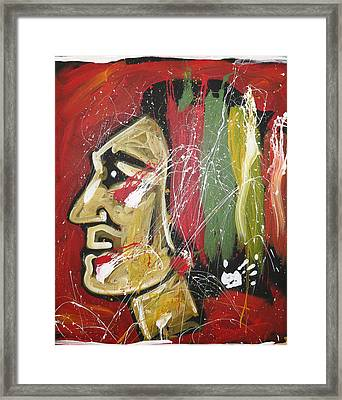 Hawks Framed Print by Elliott From