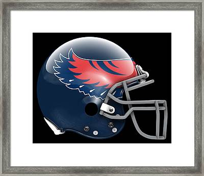Hawks What If Its Football Framed Print by Joe Hamilton