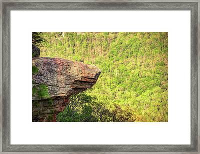 Hawksbill Crag - Whitaker Point - Northwest Arkansas Framed Print